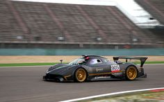 Pagani Zonda R Fire Abstract Car El Tony