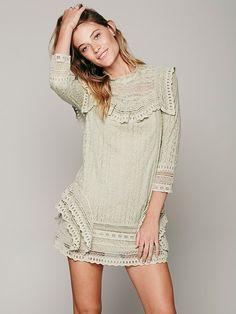 Free People Victor Victorian Dress, $198.00