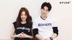 Lee Sung Kyung & Nam Joo Hyuk for Nylon Korea - Lee Joongi, Lee Min Ho, Yoonmin, Weightlifting Kim Bok Joo, Nam Joo Hyuk Lee Sung Kyung, Joon Hyung, Swag Couples, Kim Book, Nam Joohyuk