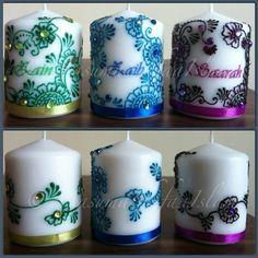 henna-art-candles