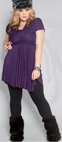 Trendy Plus Fashions   Trendy Plus Size Fashions The Wrap Dress
