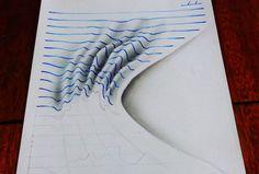 Lined paper Draw trick - Google keresés