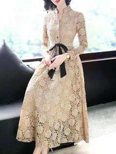 trendy ideas for dress brokat lace fashion Best Prom Dresses, Trendy Dresses, Women's Fashion Dresses, Elegant Dresses, Simple Dresses, Beautiful Dresses, Nice Dresses, Dress Outfits, Casual Dresses