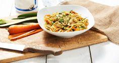Lunch Sain - Pâtes de Légumes & Poulet Poché - The Zone