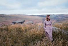 Lonely as a Cloud - Caroline Brasch Nielsen by Alexandra Sophie for Harper's Bazaar UK May 2017 - Hermes