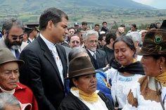 Servindi » Perú: Presentarán libro sobre conflictos entre el presidente de Ecuador e indígenas   Servicios en Comunicación Intercultural Servindi