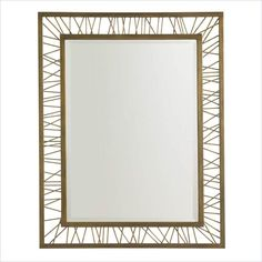 Crestaire-Palm Canyon Rectangular Mirror in Trophy - 436-53-30