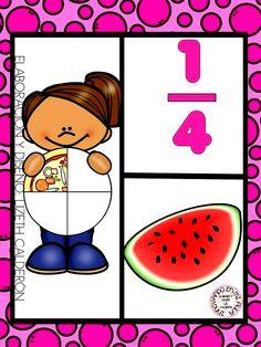The most essential details involving today's world is definitely education. Preschool Math, Math Classroom, Kindergarten Math, Teaching Math, Fraction Activities, Kids Math Worksheets, Math Activities, Childhood Education, Kids Education