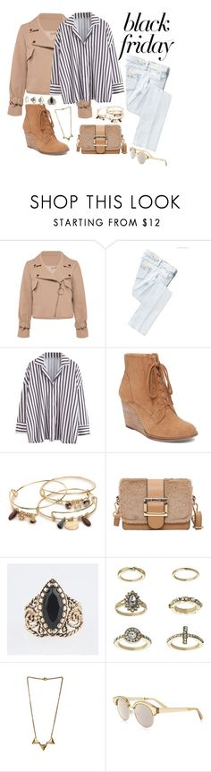 """Untitled #1651"" by style-and-chic-boutique ❤ liked on Polyvore featuring Replay, Lucky Brand, Kelly & Katie, Topshop and Le Specs Luxe"