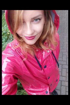 Imper Pvc, Rain Wear, Plastic, Rain Gear, Plastic Art