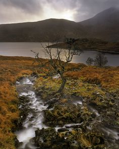 Ian Cameron  Quintessential Scotland    Kinloch Hourn, Highlands, Scotland.