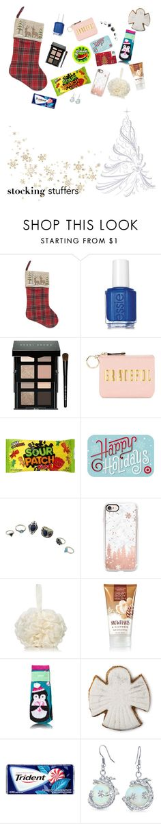 """""""Christmas stocking"""" by varyairy on Polyvore featuring Liberty, Essie, Bobbi Brown Cosmetics, Spiritual Gangster and Casetify"""