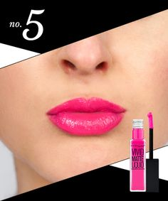 Pucker up, ladies. These rosy hues will have you looking pretty in pink