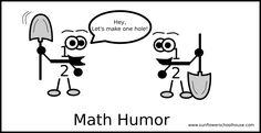 fraction humor