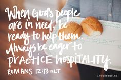 A great read about hospitality and how we can love others even when we don't have much. So good!