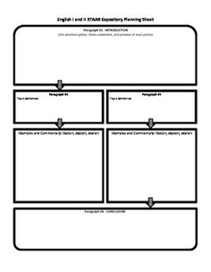 staar expository and persuasive essay planning sheet modified  need a planning sheet lined paper and rubric for the staar test