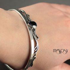 Boreas - Sterling Silver and Kyanite Bracelet