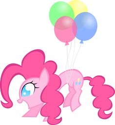 Balloon Pinkie by KalleFlaxx