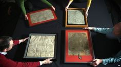 The four surviving 1215 Magna Carta. Magna Carta is one of the most important, well-known documents in history and this year marks its 800th anniversary. The document was agreed by King John to appease rebel barons in the heart of battle. It is considered one of the first steps towards parliamentary democracy and includes the principle that no one was above the law, including the king,