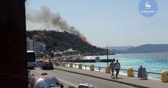Ρόδος: Ξέσπασμα μεγάλης πυρκαγιάς κοντά σε σπίτια- «Κομμένο» ρεύμα η περιοχή (φωτό)