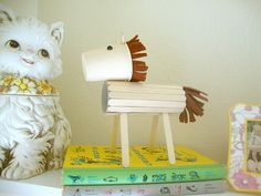 Popsicle horse craft