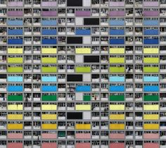 Fotógrafo Michael Wolf registra la vida claustrofóbica de las ciudades de Hong Kong © Michael Wolf