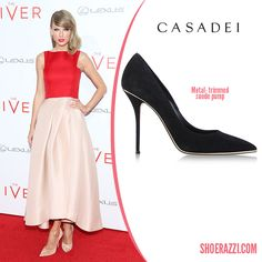 Casadei-Suede-Metal-Trimmed-Pump-Taylor-Swift