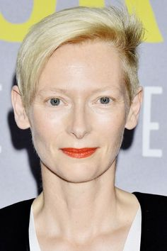 20 Pixie Cuts To Inspire Your Big Chop #refinery29  http://www.refinery29.com/pixie-haircut-inspiration#slide-7  It's impossible to discuss pixie cuts without mentioning Tilda Swinton. The actress' modern cut — long on top, shaved on the sides, and icy-platinum in color — has become her signature look....