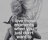 I love those moments when you just dont want to let go