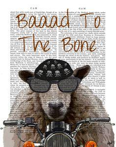 Baaaaad To The Bone