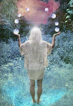 A Light shines within. Online Tarot, Angel Cards, Moon Magic, Moon Lovers, Sky Art, Moon Goddess, Art For Art Sake, Moon Art, Magick