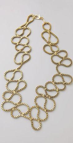 Deviated by Justin Giunta Box Chain Coil Necklace