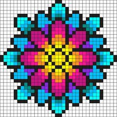 Something Wonderful Perler Bead Pattern / Bead Sprite Etwas wundervolles Perler Perlmuster / Perle Sprite Pearler Bead Patterns, Bead Loom Patterns, Perler Patterns, Beading Patterns, Crochet Patterns, Jewelry Patterns, Embroidery Patterns, Loom Beading, Embroidery Art