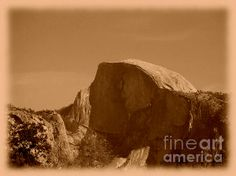 Yosemite - Half Dome ©Richard Reeve Photography. More available on reevephotos.com [Please only repin with this credit text]  #yosemite #halfdome #oldphoto #nationalpark #mountain