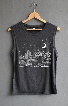 Desert Starry Night Shirt Desert Shirt Camping Shirt #hikingpants