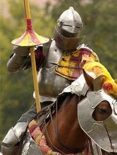 Image detail for -... at the faire helps to reenact jousting from the Medieval period