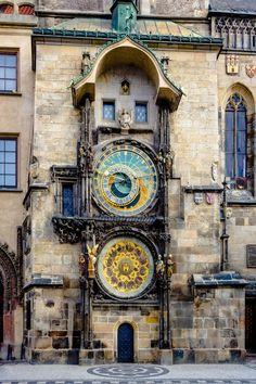 Installed in the year 1410, this 600 year old clock located in the city of Prague is the world's oldest astrological clock still in operation