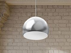 Lampa sufitowa wisząca - żyrandol - chrom - oświetlenie - VOLTA