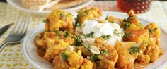Cauliflower and Butternut Squash Curry. Just because you're eating veggie doesn't mean it shouldn't taste amazing. http://www.chefd.com/collections/all/products/cauliflower-and-butternut-squash-curry