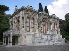 El Palacio de Ihlamur es uno de los principales atractivos del barrio de Besiktas