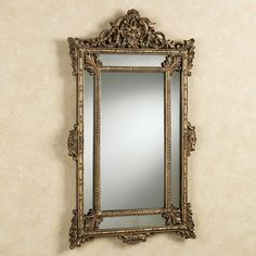 antique mirrors | Vintage Aged Mirror Antique Gold