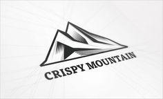 Creative Logo, Logos, Design, Crispy, and Mountain image ideas & inspiration on Designspiration Inspiration Logo Design, Logo Design Trends, Best Logo Design, Daily Inspiration, Typography Logo, Logo Branding, Branding Design, Brand Identity, Corporate Identity