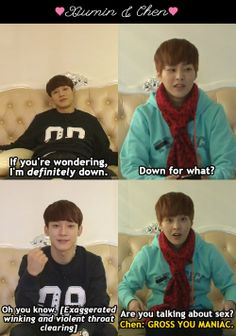 exo speed dating chen and xuimin