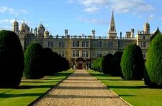 Driveway to Burghley House
