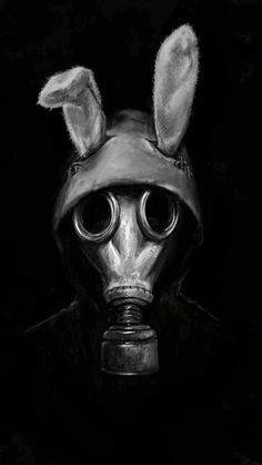 Resultado de imagem para pessoas vestidas com mascaras de gas