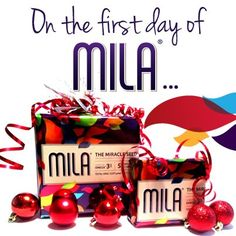 On the first day of Mila, give the gift of good health! Mila wrapped in Mila: What a great way to share some super-food with prospects for the holidays!
