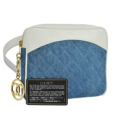 Chanel Quilted Cc Logos Bum Leather Vintage Italy BLue Cross Body Bag. Get the trendiest Cross Body Bag of the season! The Chanel Quilted Cc Logos Bum Leather Vintage Italy BLue Cross Body Bag is a top 10 member favorite on Tradesy. Save on yours before they are sold out!
