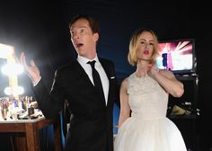 Benedict Cumberbatch Charmed Everyone at the SAG Awards: Benedict Cumberbatch gave a whole new meaning to British invasion with his sweet and hilarious interactions with Julia Roberts, Aaron Paul, and other stars at the SAG Awards in LA on Saturday.