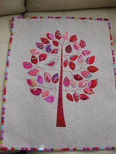 Family Tree quilt idea