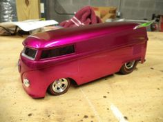 Hot Wheels 1999 Customized VW Drag Bus 1:18 scale Out of Box VERY RARE